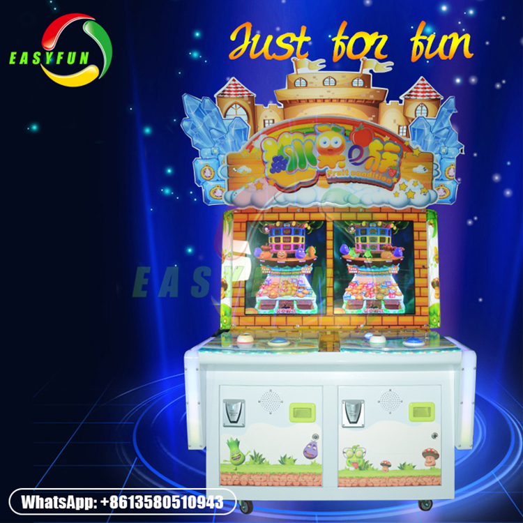 Cheap New more exciting high quality 2 players redemption game machine
