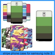new arrival for samsung galaxy note 3 stripe protective case back cover