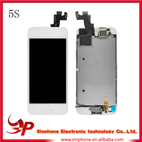ali baba electronic LCD Display Screen Touch Digitizer Glass Assembly for Apple iPhone 5S