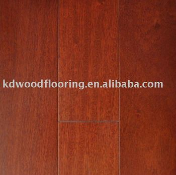 China factory African wood Sapele engineered wood floor