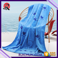 Best Selling Colorful Large Square Beach Towel Fabric