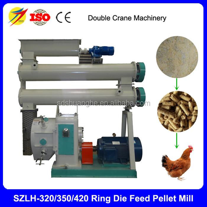 hot sale China popular animal pellet feed processing machine