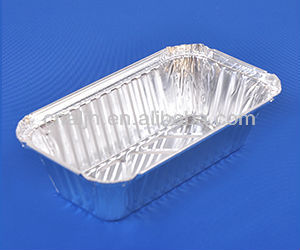disposable aluminum foil trays container for serving