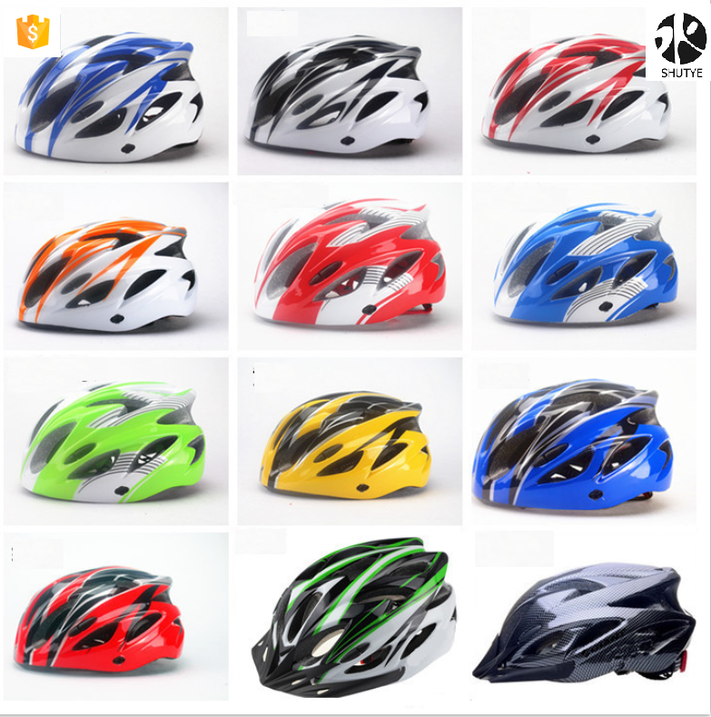 Wholesale Cheap Price Size 54-58cm Cycling Mountain Bicycle Helmet With LED