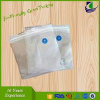 Plastic sealed vacuum plastic bag for food