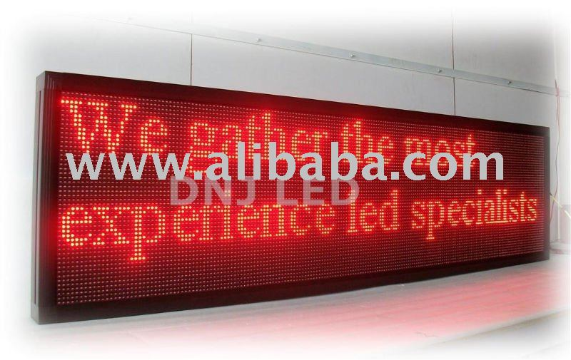 LED Moving Sign board