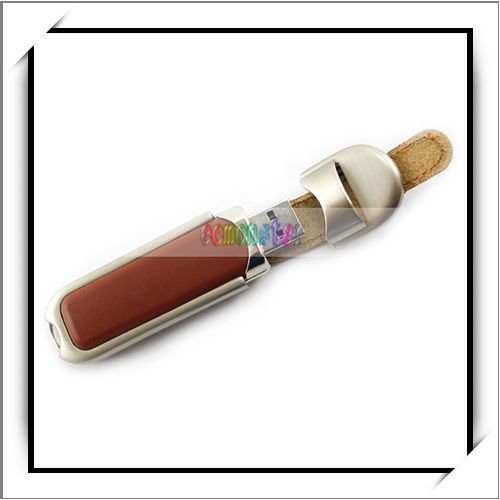 Lowest Price 8GB Brown Leather USB Flash Memory Drive Pen