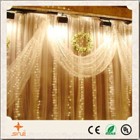 YC LED curtain light christmas decoration light for holiday festival decoration/outdoor christmas lights