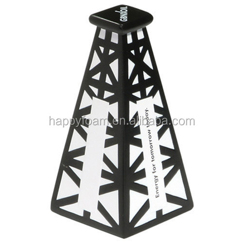 customized oil derrick stress ball