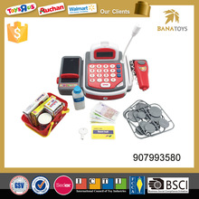 Top quality kids electronic cashier toy with