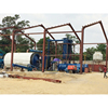 Eco-environment waste tyre recycle pyrolysis equipment