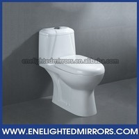 Popular floor mounted bathroom washdown p-trap 100mm toilet