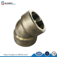 pipe elbow 45 degree dimensions
