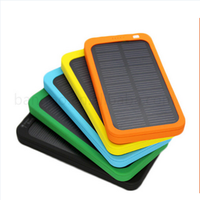 Solar Mobile Phone Charger 5000mAh Mini Solar System With Mobile Charger