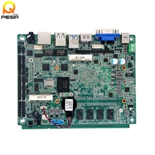 "Fanless Intel N4200 quad core 2 lan 3.5"" embedded motherboard with lvds 8-36v wide voltage input"