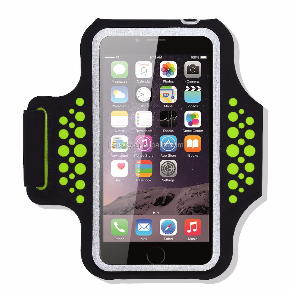 HAISSKY 5.5 inch good price /new design / Multifunctional cell phone armband