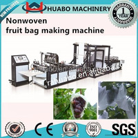 Factory Supplier Fully Automatic New design Recyclable Non-woven Fruit Bag Making Machine
