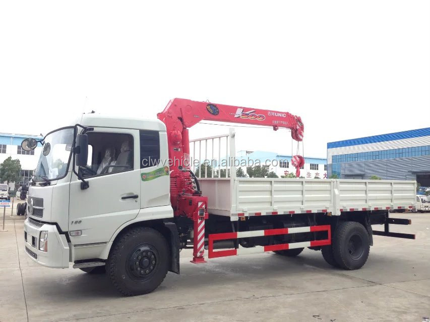 1ton-10ton truck with crane 10T 20T 30T crane truck for sale