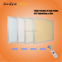 Wifi control CCT adjusting & Dimmable LED Panel Light Iluminacion interior led light CE RoHS approved