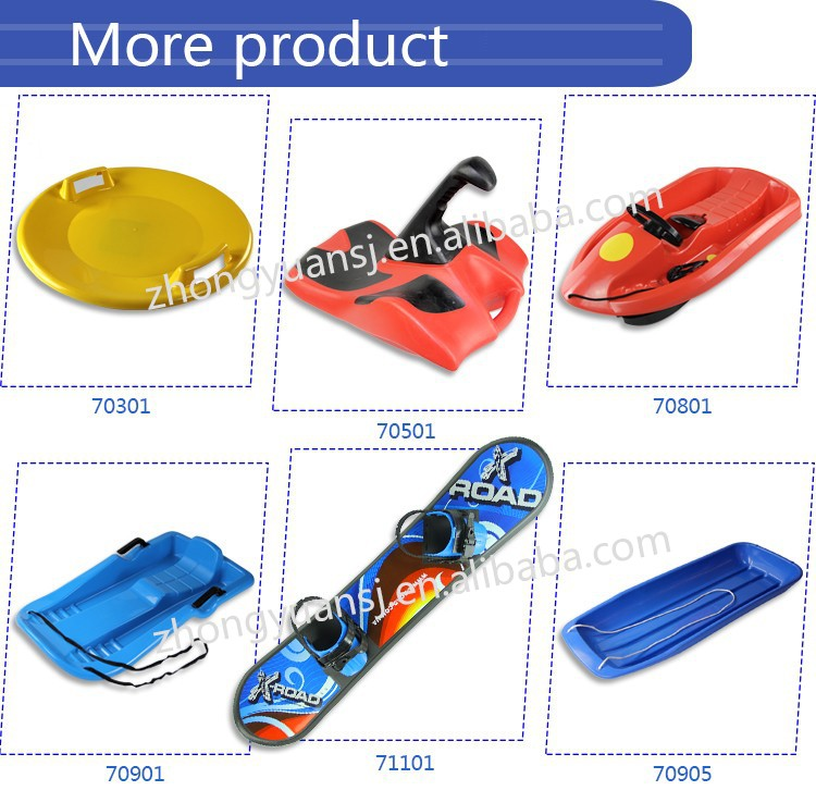 2016 safety Plastic winter kid snow boards