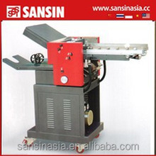 sansin service 382SC with counter Paper folding machine fan fold