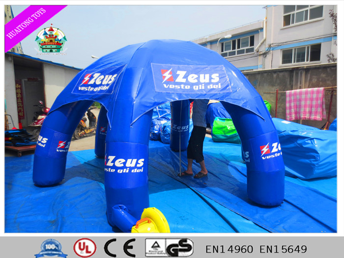 large outdoor inflatable tent / inflatable lawn event tent