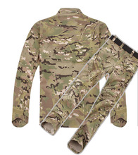 Desert Digital Camouflage Uniform, High Quality Outdoor Sports Long Sleeve Battle Fatigues