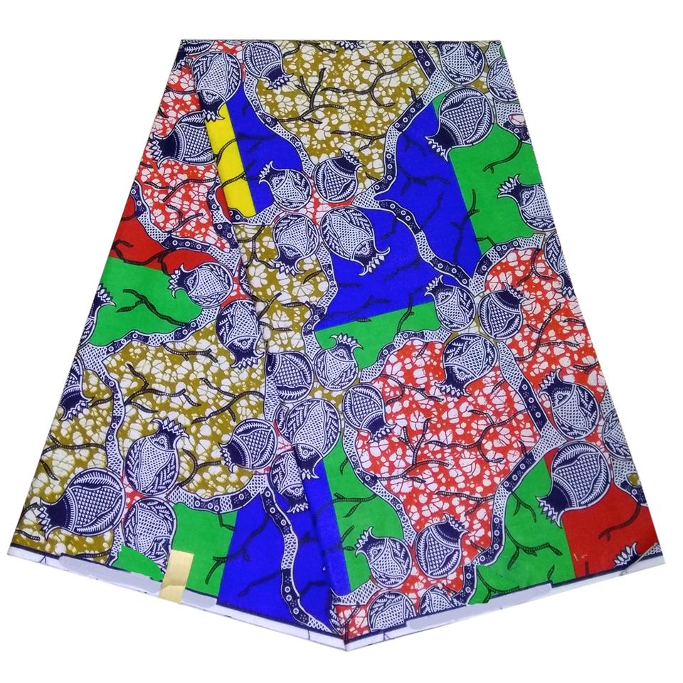 SAF0240 Mudcloth | Ankara Headwrap Head Scarf Fabric Kente Fabric 6 Yards African Print Fabrics Ankara Wax Pattern