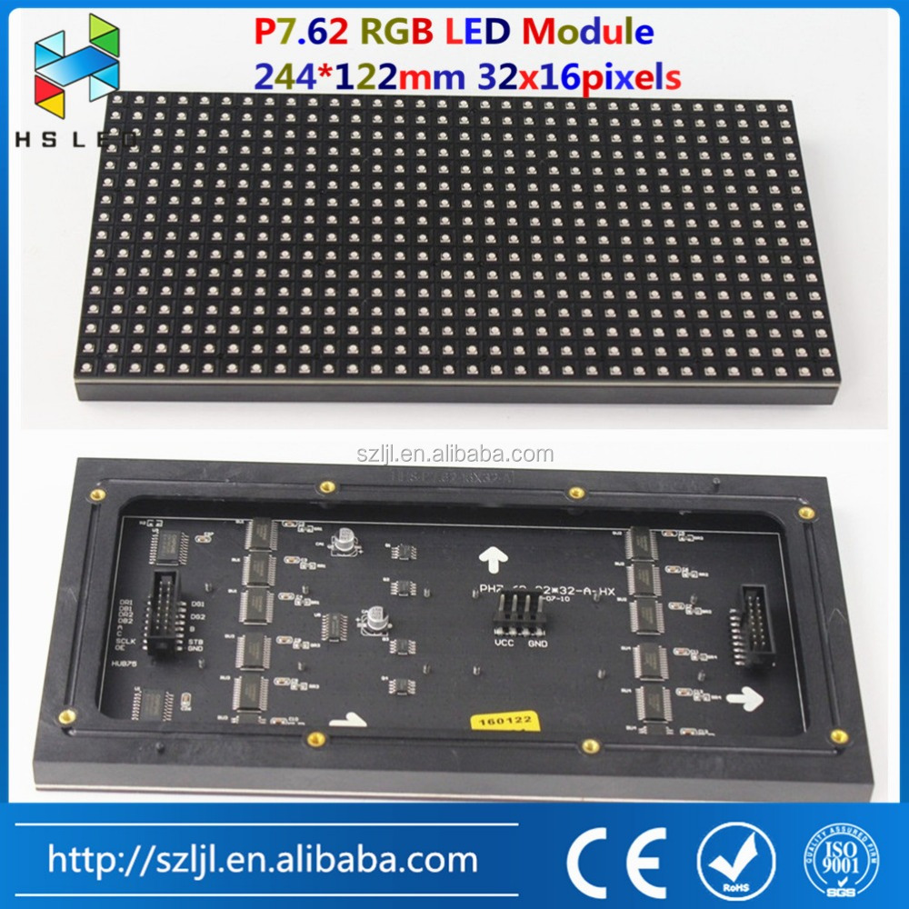 Manufacture direct sale LED alarm information adjustable led electronic display board
