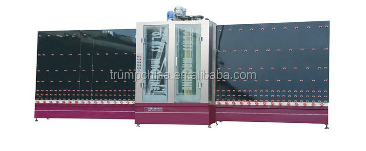 Automatic Insulating Glass marking Machine / Vertical Glass Washing Machine