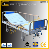 YKB003-1two rockers Manual Nursing Care Hospital Beds/home care bed