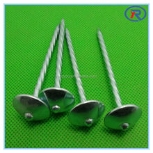 Umbrella Head Roofing Nails/corrugated roofing nails made in china