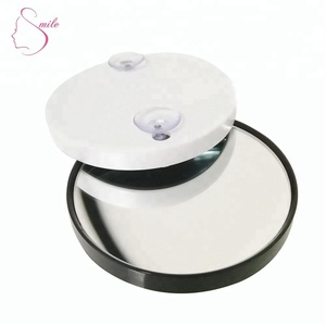 Round Bathroom Mirror with10x Magnifying Glass