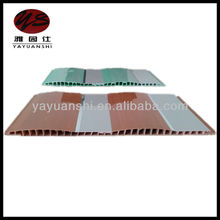 plastic pvc wave shape ceiling and wall panel