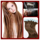 alibaba express skin weft human hair extension,tape hair real 100% brazilian human hair extensions