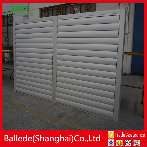 Motorized Automatic Adjustable Aluminum Louvers For Sun Shade Buy Aluminum Louvers For Sun