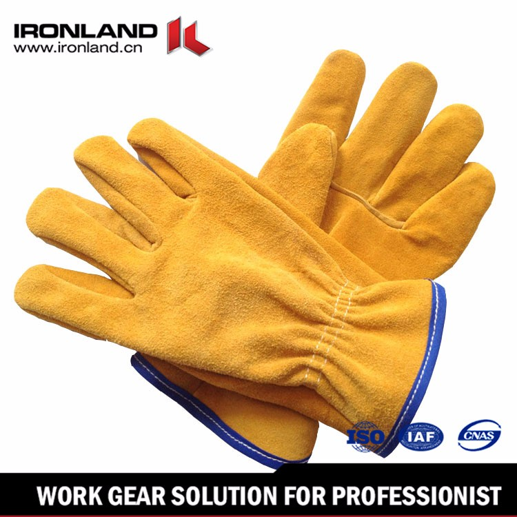 Multi-Color Custom Durable big size leather welding gloves