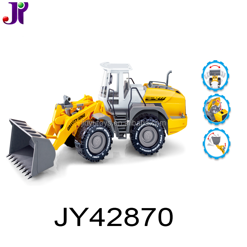 Super Truck Toy 1:22 Plastic Friction Engineering Bulldozer Truck Construction Truck Toy for kids