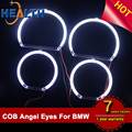 Error Free Single Color X5 E53 LED Halo Ring White Blue Yellow Red Green For BMW Headlight Facelift