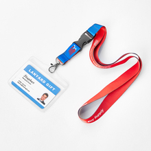 Huacheng Waterproof Promotional Clear ID Badge Vinyl Card Holder