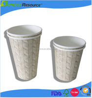 Top quality hot drink single wall disposable paper and cup