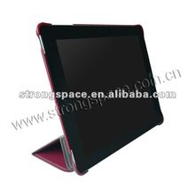 Luxury leather case for iPad3 new ipad