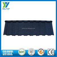 Light weight chinese style interlocking sand coated roofing tiles for sale