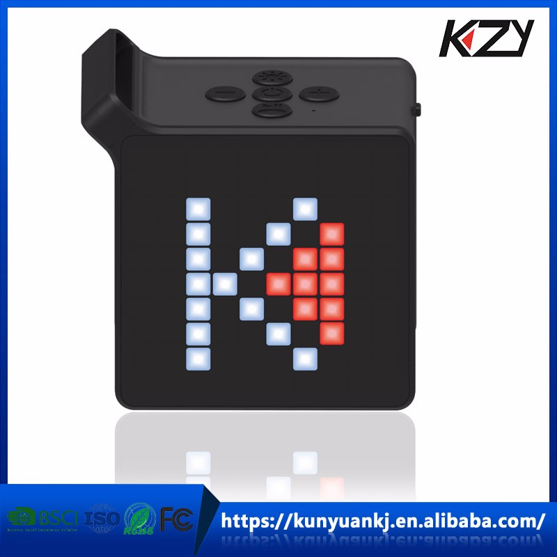 GuangDong HuiZhou LED Light Wireless APP remote controller amplifier active speaker with led light