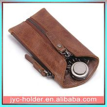leather pouch key ring ,h0tdr key case leather
