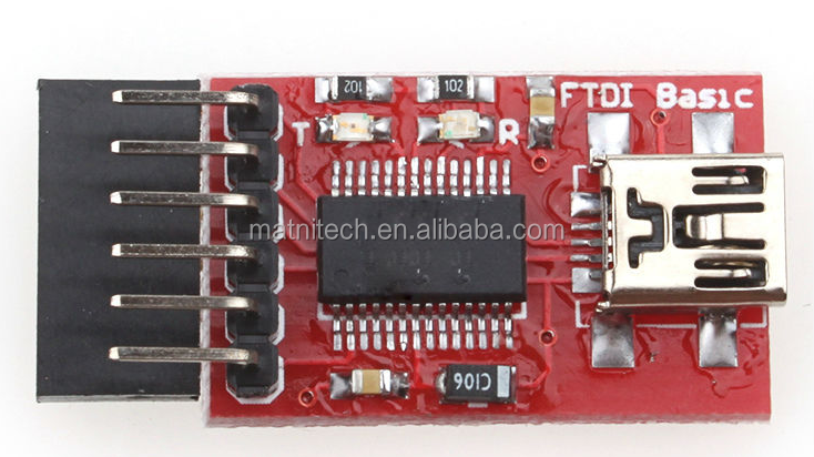 FTDI Basic Program Downloader USB to TTL FT232