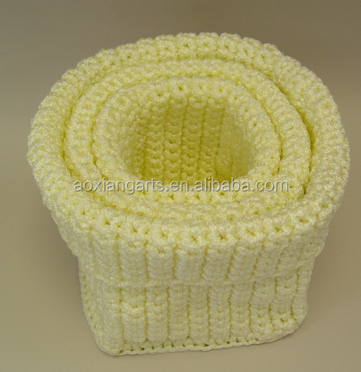Nylon String Knitted Mini Basket from Chinese Supplier alibaba
