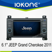 6.1'' HD Touch screen 2 din Car DVD player for Jeep Grand Cherokee with GPS navigation