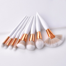 4/8 Pcs Makeup Brush Kit Soft Synthetic Makeup Applicator Brush for Women Eyeshadow Facial Make Up