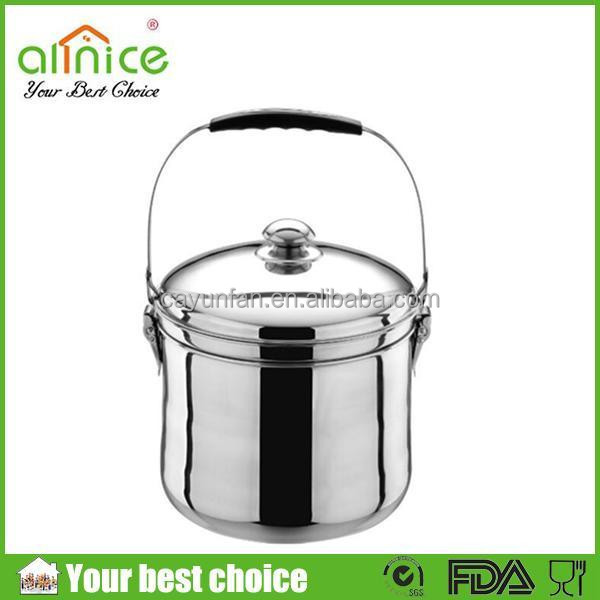 2015 Energy-saving cooking pot/fire-free reboiling pot/stainless steel carrier pot